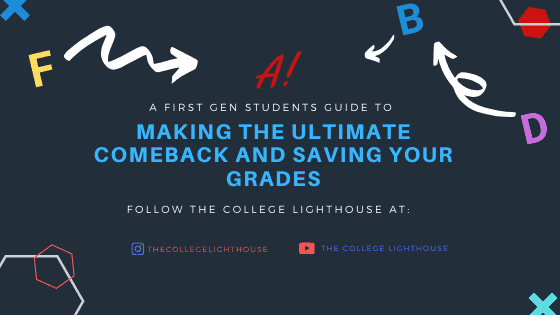 save your grades first gen students